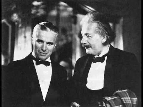 حديث اينشتاين وشارلي شابلن
