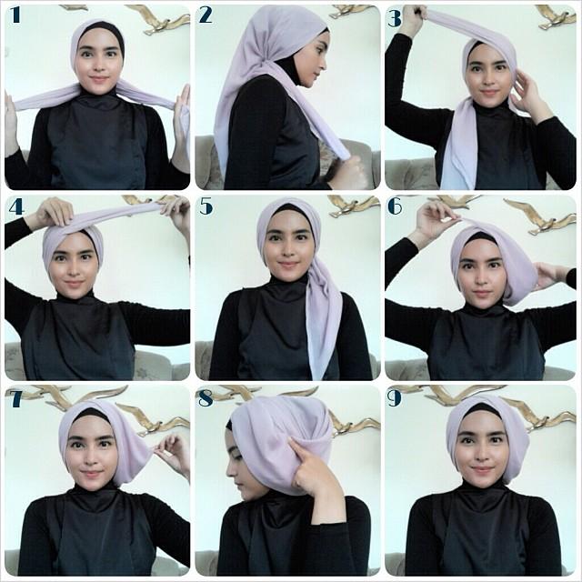 طريقة لف الحجاب - صفحة