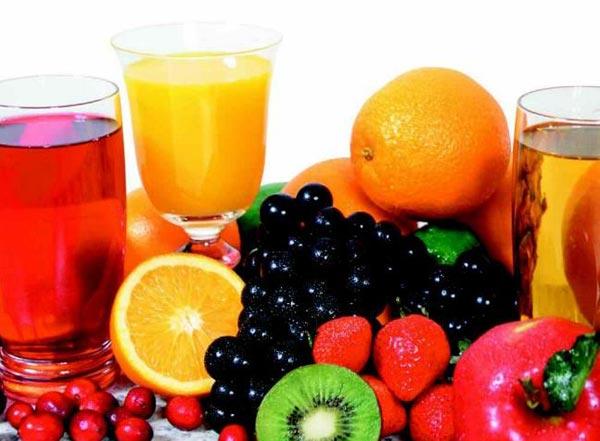 فوائد انواع العصير المختلفة