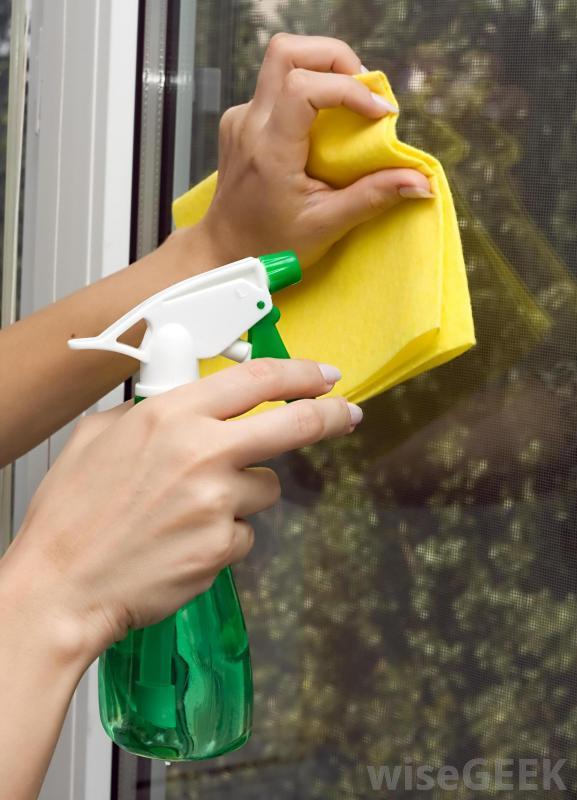 افضل خلطة منزلية لتلميع الزجاج