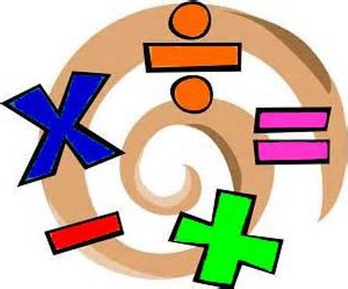 مصطلحات العمليات الحسابية بالانجليزى