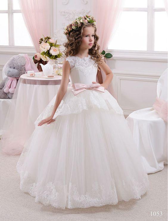 b010e2f7d فساتين زفاف اطفال 2016 - صفحة