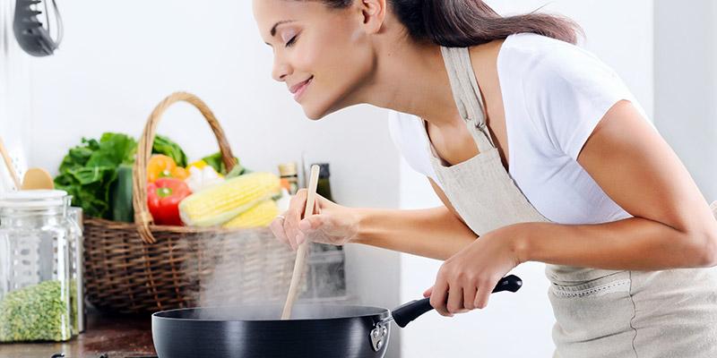 العلاقة بين الطبخ فى المنزل وخسارة الوزن