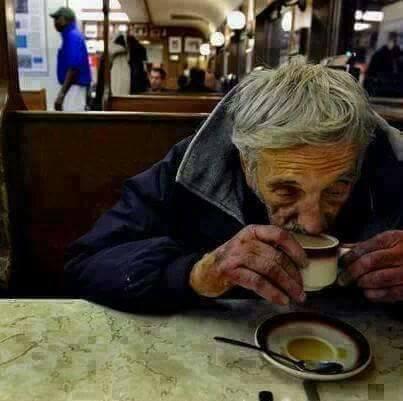 فنجان القهوة المعلقة