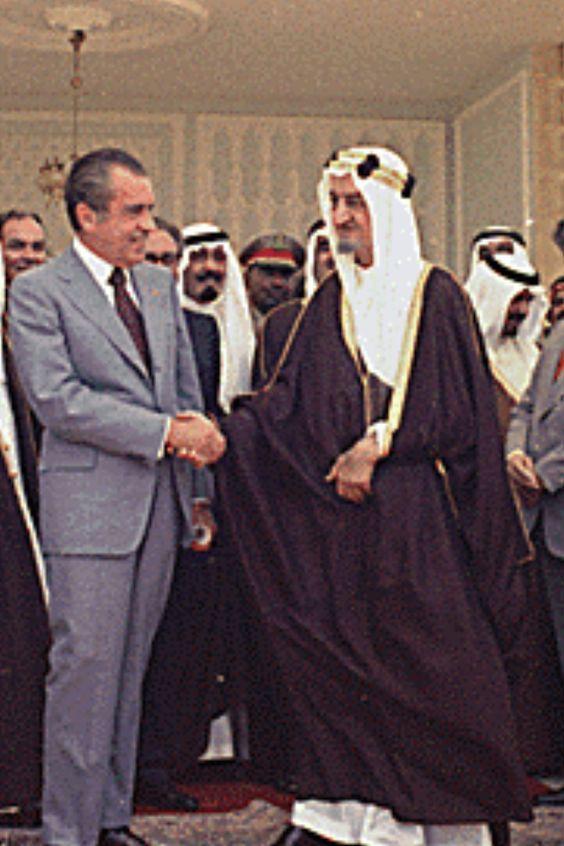 الموقف البطولى للملك فيصل فى حرب 73
