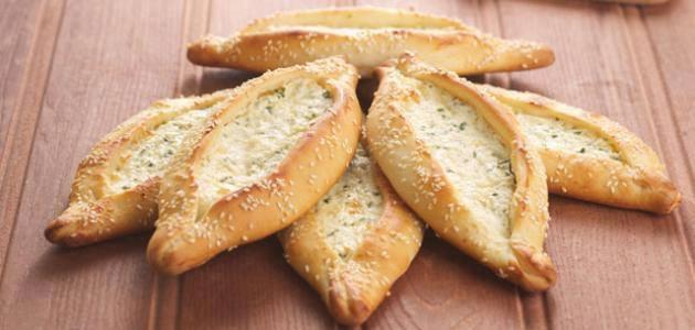 طريقة عمل فطائر الجبن الشامية