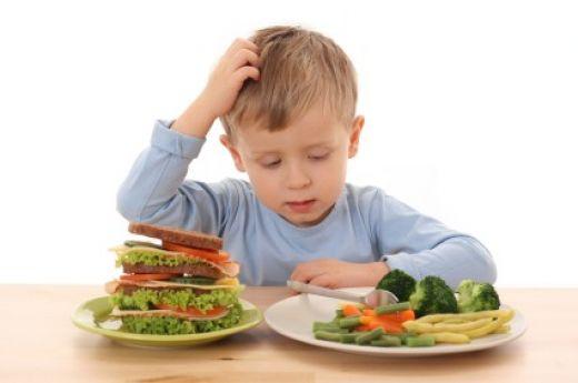 مشاكل غذائية شائعة عند الأطفال