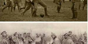 مباراة كرة قدم في الحرب العالمية الاولى
