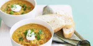 طريقة عمل شوربة عدس باللحم Lentil Soup and Meat