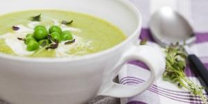 طريقة تحضير شوربة البسلة او البازلاء Pea Soup