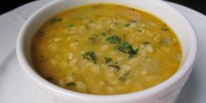 طريقة عمل شوربة القمح Wheat Soup