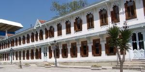 قصر يلدز : بُني هذا القصر عام 1880، وكان مقرًا للسلطان \
