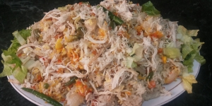 طبق الأرز الصينى بالدجاج