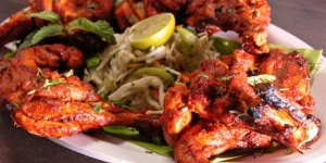 طريقة تحضير دجاج التندورى الهندى