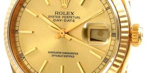 ساعات رجالى ذهبية من روليكس