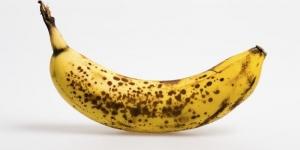 فوائد الموز ذو البقع السوداء