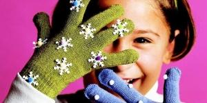 أحدث قفازات بناتى لشتاء 2016