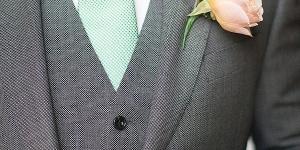 أشيك بدل زفاف رصاصى 2016