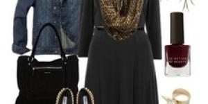 أزياء كاجوال شتوى للمرأة الممتلئة