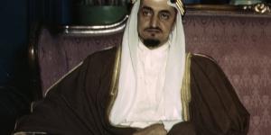 الملك فيصل ووزير الخارجية الامريكى