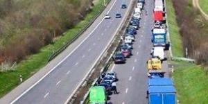 الازدحام المرورى فى المانيا
