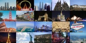 اسماء مدن العالم بالانجليزية