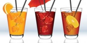 انواع المشروبات الباردة  باللغة الانجليزية
