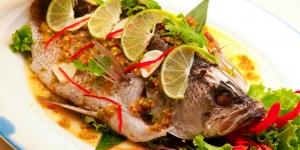 اسماء ماكولات من السمك بالانجليزية