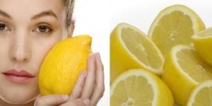 وصفات الليمون لتفتيح البشرة