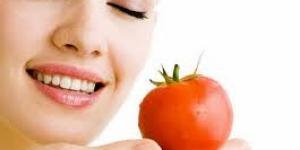 وصفات الطماطم للبشرة الدهنية