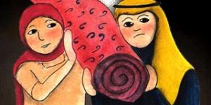 طرائف جحا ( زوجة جحا واللحاف )