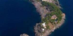 جزيرة على شكل دولفين