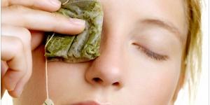 فوائد اكياس الشاى للجمال