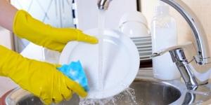 نصائح لغسل الاطباق بسهولة