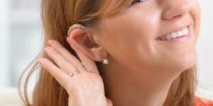 الزوجة ضعيفة السمع