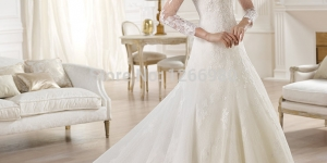 احدث فساتين زفاف للمحجبات