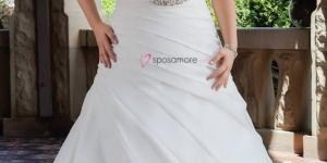 أحدث فساتين زفاف للبدينات 2016