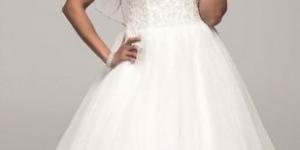 فستان زفاف للتخان 2016