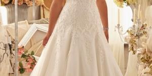 فساتين زفاف للبدينات 2016