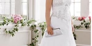 فستان زفاف للبدينات 2016