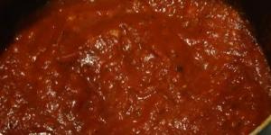 طريقة عمل صوص البيتزا الايطالى الاصلى