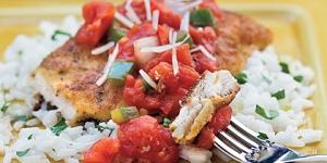 طريقة عمل الدجاج المقرمش بالنكهة الايطالية