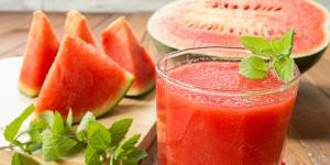 طريقة تحضير عصير البطيخ بالنعناع