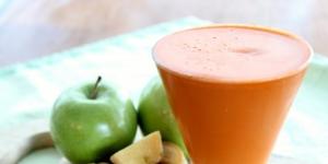 طريقة تحضير عصير التفاح بالجنزبيل