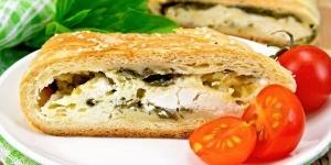 فطائر الجبن اللذيذة