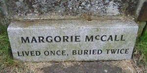 المرأة التى دفنت مرتين