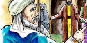 دين الرجل وبركة رسول الله
