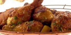 طريقة عمل أرجل دجاج حارة فى الفرن