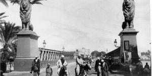 كوبرى قصر النيل قديما