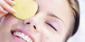 وصفة البطاطس للقضاء على الهالات السوداء
